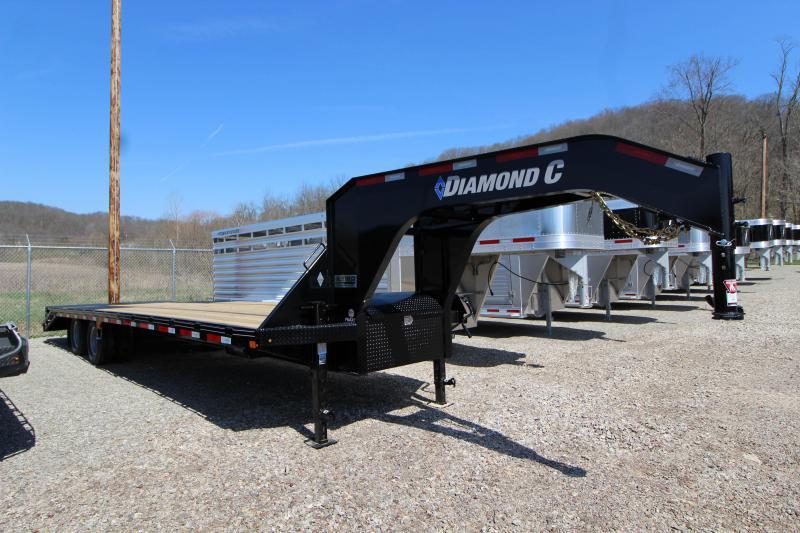 2018 Diamond C FMAX210 30' Equipment Trailer J1198419