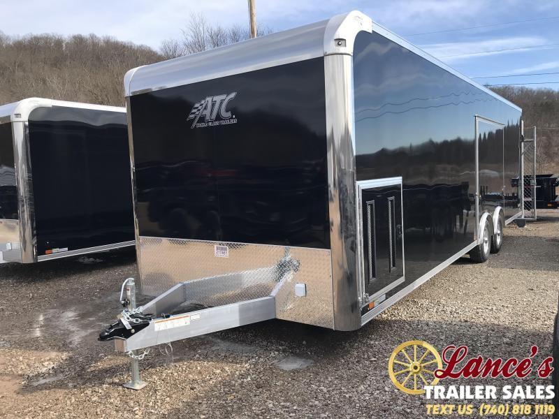 2019 ATC Raven Plus 28' Enclosed Car Hauler KC217461