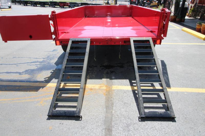 "2019 Diamond C 77""X12' Dump Trailer K1206796"