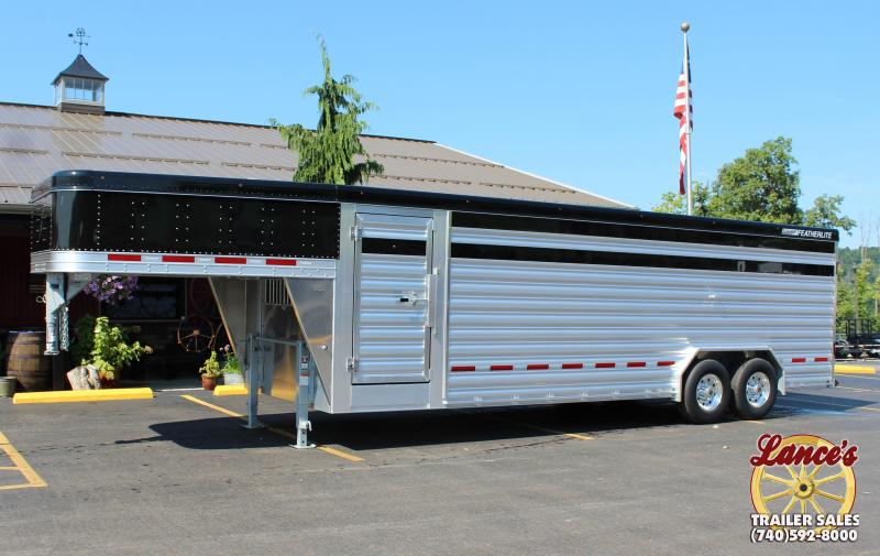 "2019 Featherlite 8127 8'X24' ""Presidential Edition"" Show Cattle Trailer KC151497 in Ashburn, VA"