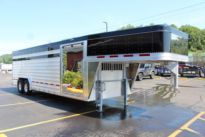 "2018 Featherlite 8127 8'X24' ""Presidential Edition"" Show Cattle Trailer JC149136"