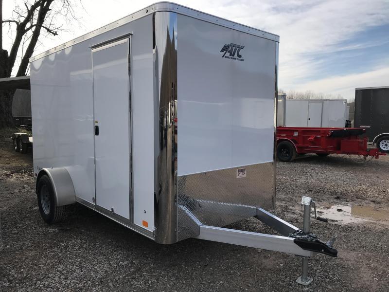 2019 ATC Raven 6'x12' Single Axle Cargo Trailer KC217454
