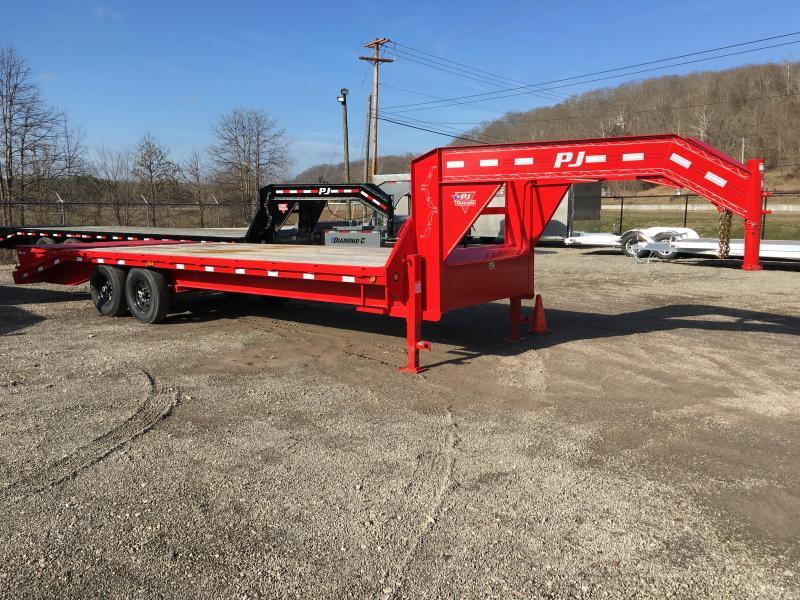 """2019 PJ 102"""" x 25' Equipment Trailer K3036359"""