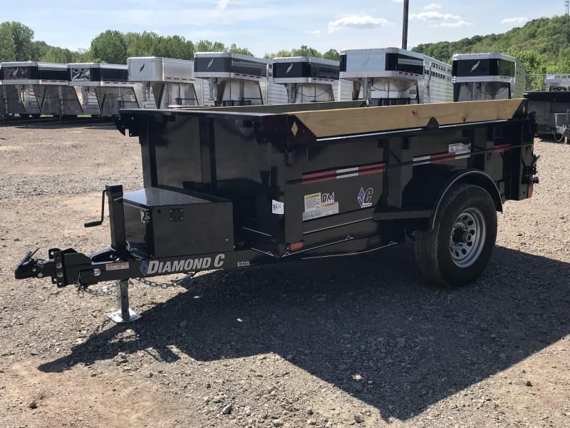 2019 Diamond C 5'x8' Dump Trailer K1214305