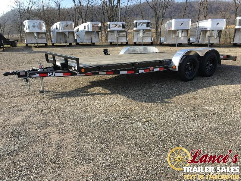 2019 PJ 83 x 18'  OPEN CAR TRAILER