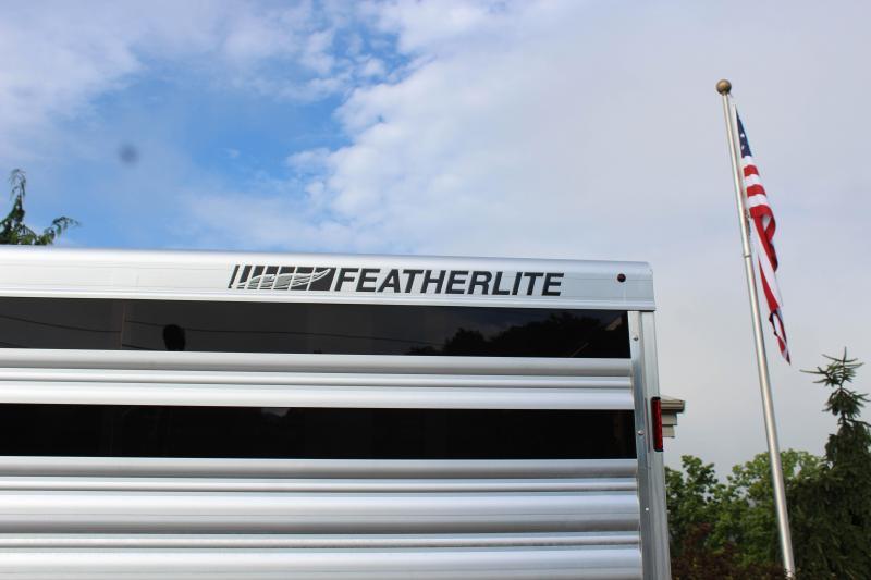 """2018 Featherlite 8127 8x24 """"Silver Elite"""" Show Cattle Trailer"""