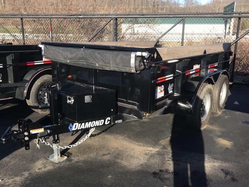 "2018 Diamond C 60""x10' ""Deluxe"" Dump Trailer J1196839"