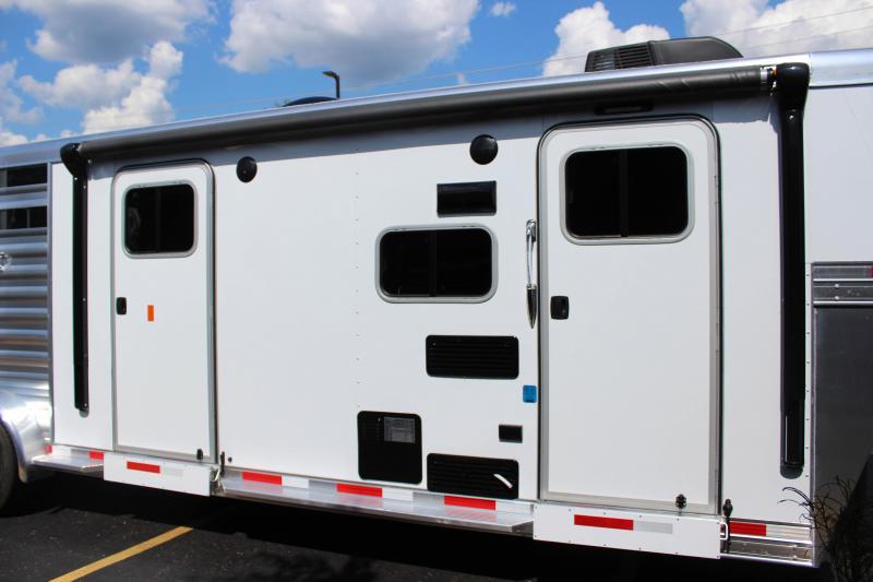 2019 Exiss Express 7311 3 Horse Slant Load LQ K5071012