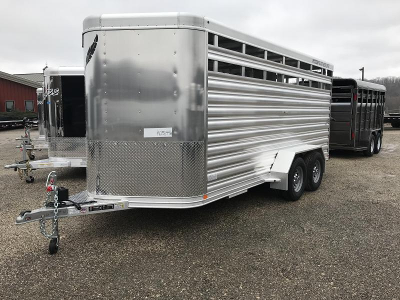 2019 Featherlite 8107 16' Livestock Trailer KC150446