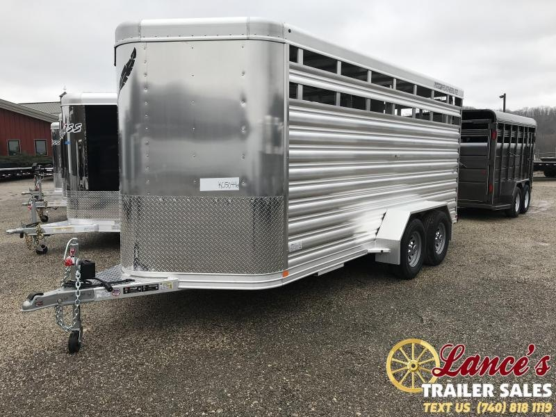 2019 Featherlite 8107 16' Livestock Trailer KC150776