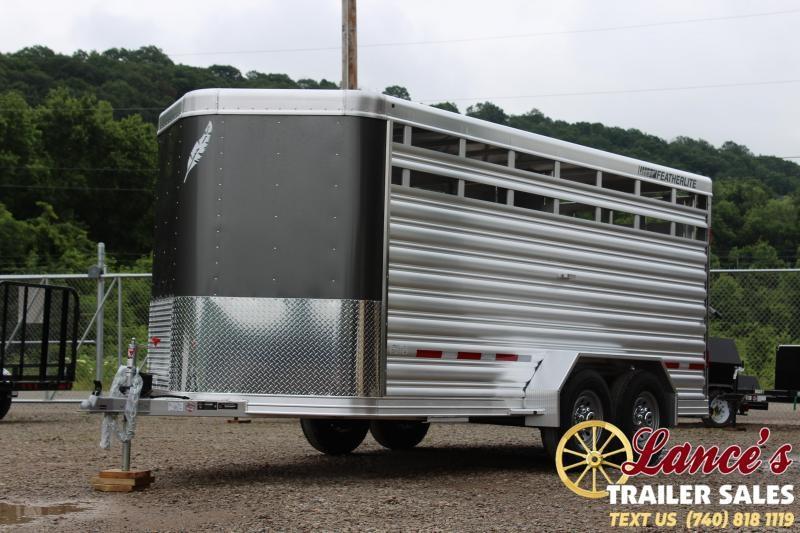 2020 Featherlite 8107 Livestock Trailer