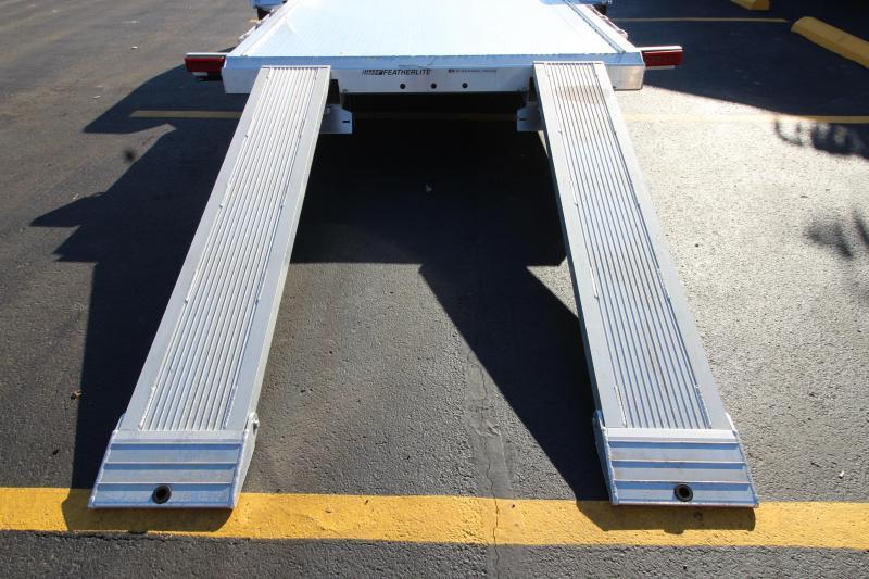 2018 Featherlite 3182 20' Aluminum Open Car Hauler JC147224