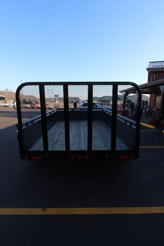 "2019 PJ 83""x14' Fold-Up Gate Utility Trailer"