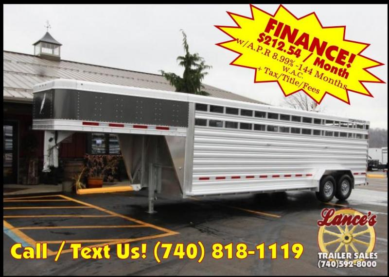 2019 Featherlite 8127 7'x24' Livestock Trailer KC150756 in Ashburn, VA