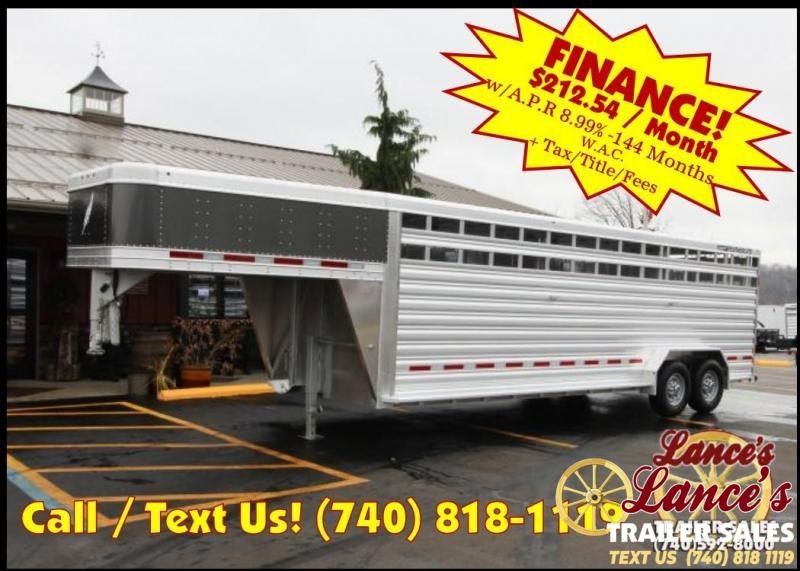 2019 Featherlite 8127 7'x24' Livestock Trailer KC150756