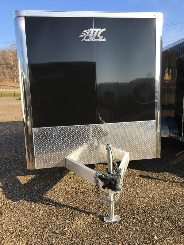 2019 ATC Raven 7'x12' Tandem Axle Cargo Trailer KC 215748