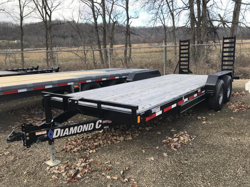"2018 Diamond C REQ 82""x20' Equipment Trailer J1198752"