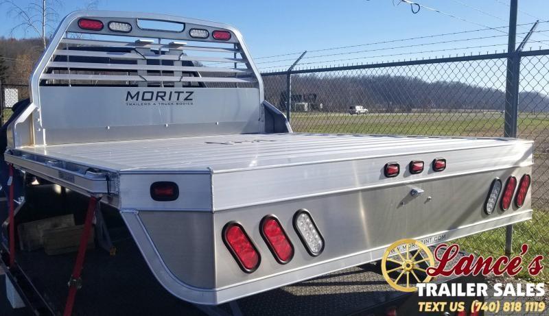 2019 Moritz 7'Wx8'6L (SRW) Aluminum Truck Bed