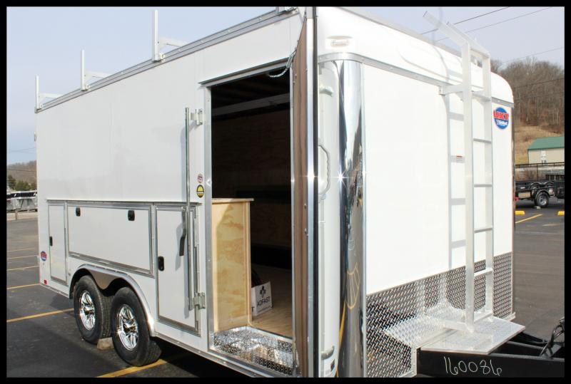 "2018 United Trailers UXT-8'5""x16' ""Tool Crib"" Cargo Trailer"