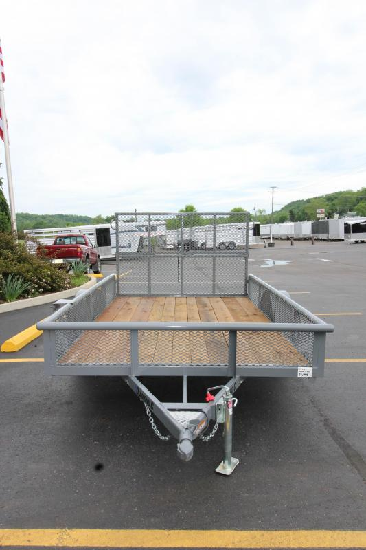"2018 Diamond C 2PSA 77""x10' Utility Trailer"