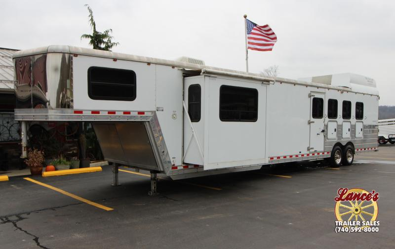 2006 Kiefer Built Genesis 4 Horse Trailer w/ Slide Out 6K050334