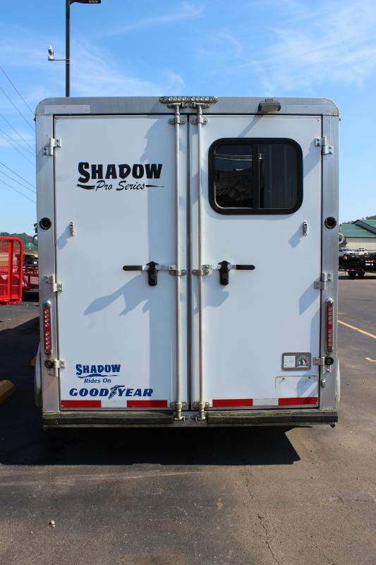 2015 Shadow 3 Horse Slant Load Trailer with Living Quarter Shell