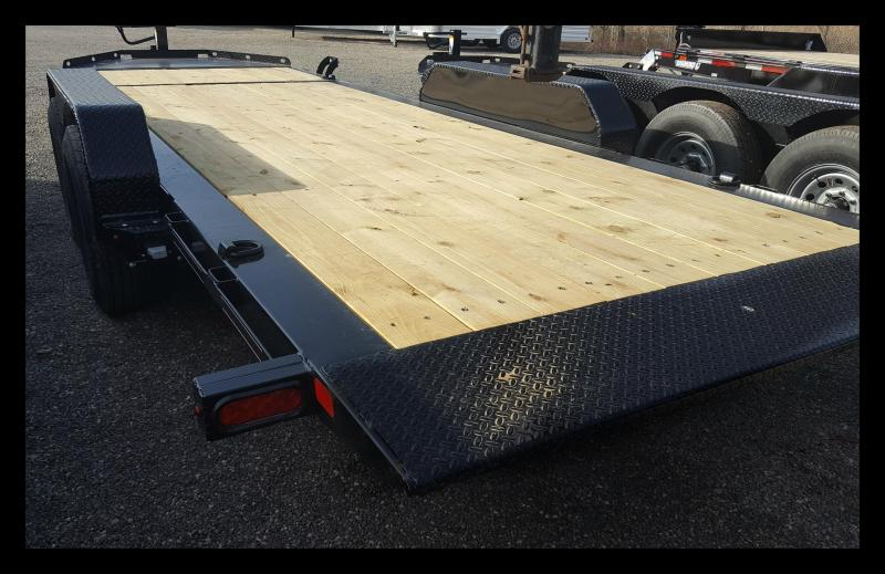 2018 Diamond C 48HDT 20' Low Pro Equipment Trailer