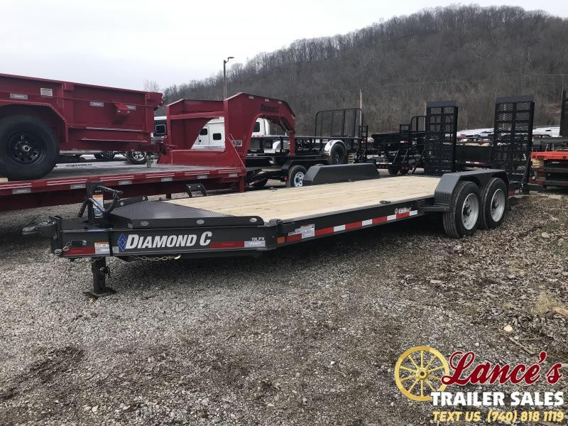 "2019 Diamond C 82""x20' Low Pro Equipment Trailer K1206962"
