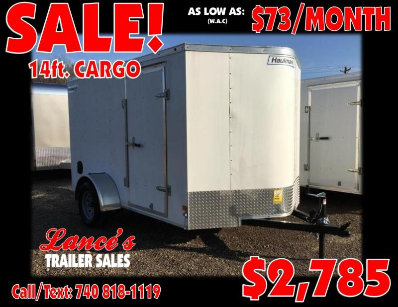 2019 Haulmark Passport 6'x10' Cargo Trailer
