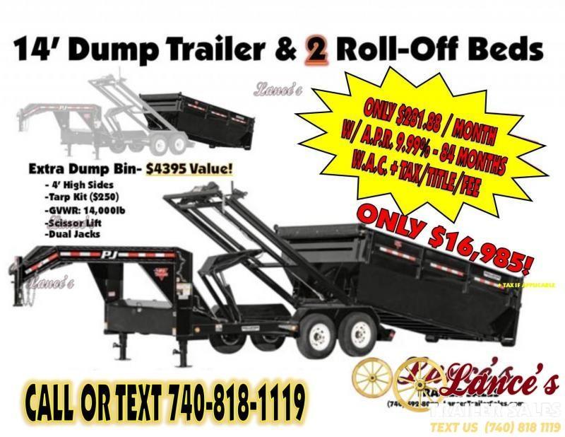 2019 TRAILER - DUMP -ROLLOFFS -2-ROLLOFFS- K1306735-  SALE ENDS JUNE 15TH