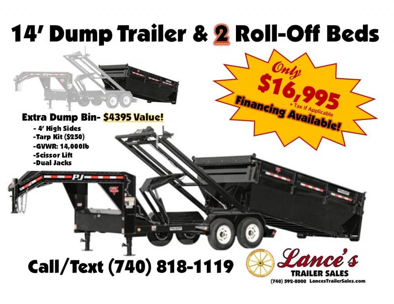 2019 TRAILER - DUMP -ROLLOFFS -2-ROLLOFFS- K1306735-  SALE ENDS JUNE 1ST