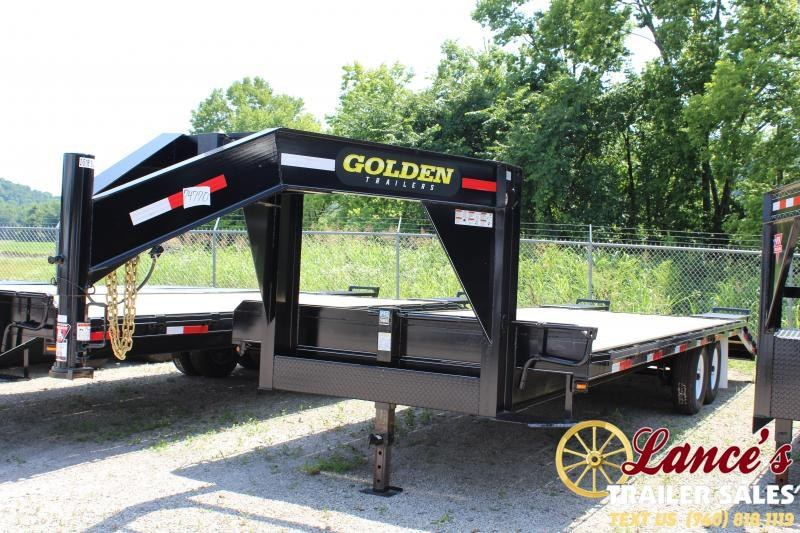 2019 Golden 20+57K Equipment Trailer