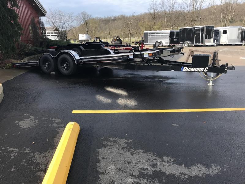 """2019 Diamond C 83""""x22' Hydraulic Tilt Car Hauler K1212369"""