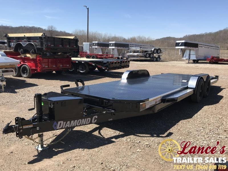 "2019 Diamond C 83""x22' Hydraulic Tilt OPEN Car Hauler K1212369"