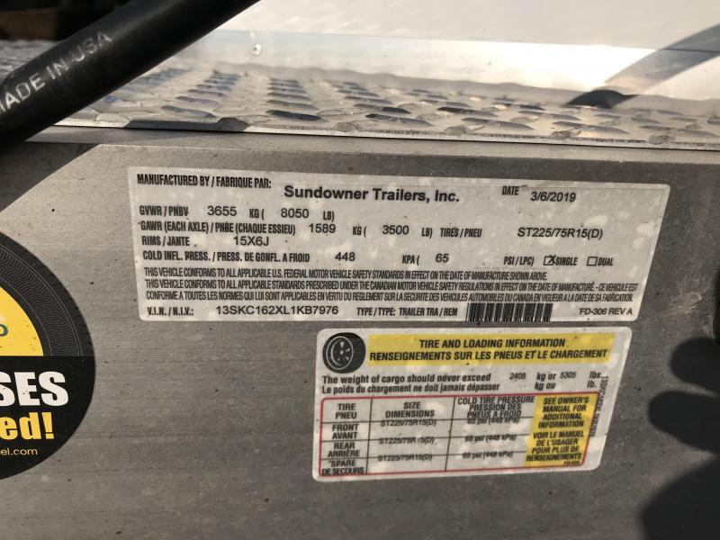 2020 Sundowner Stockman Special 3 Horse Trailer L1KB7976