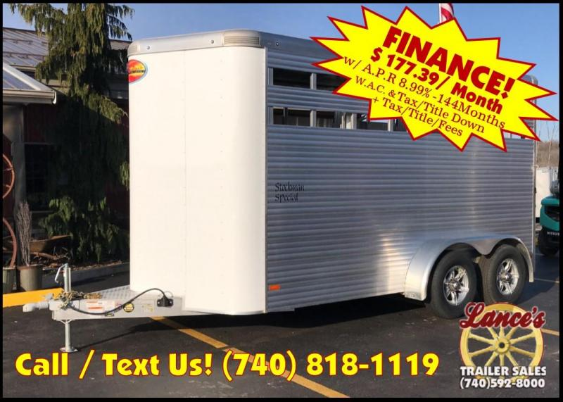 2019 Sundowner Stockman Special 3 Horse Trailer L1KB7976