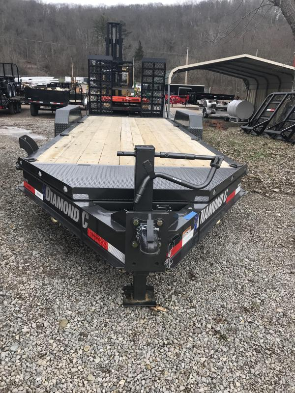"2019- 18 K -GVW-  PRO - SERIES--82""X20' Equipment Trailer"