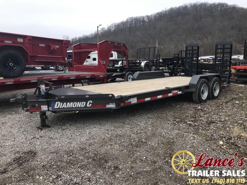 "2019 Diamond C 82""x20' Low Pro Equipment Trailer K1206929"