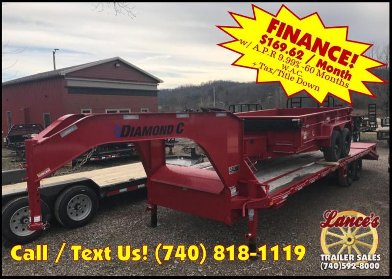 2018 Diamond C FMAX 207 25' Equipment Trailer J1200980