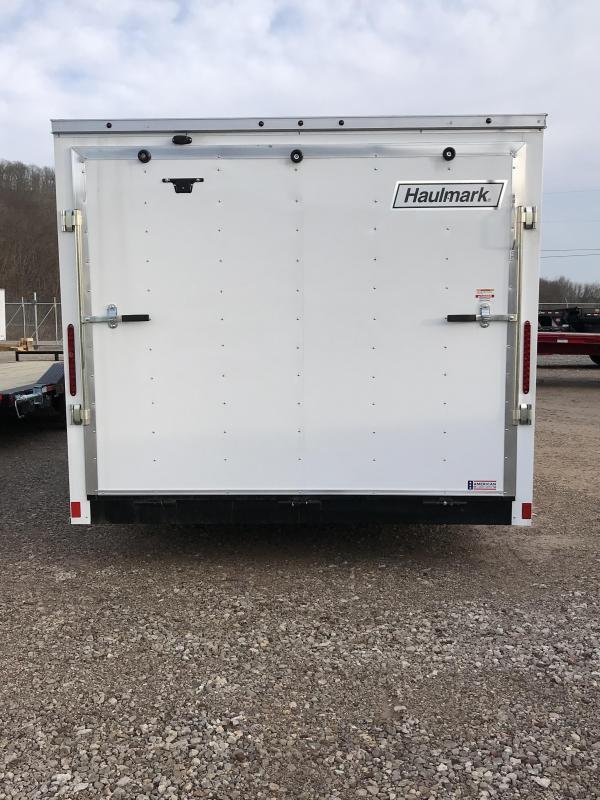 """2018 Haulmark Passport 8.5""""x20' Tandem Axle Cargo Trailer KH000401"""