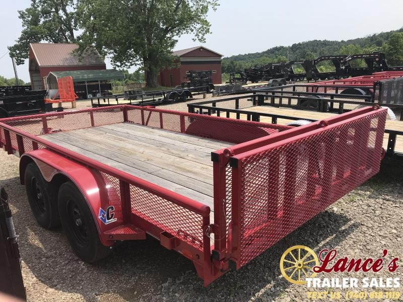 "2018 Diamond C 6GT 83""X16' Utility Trailer"