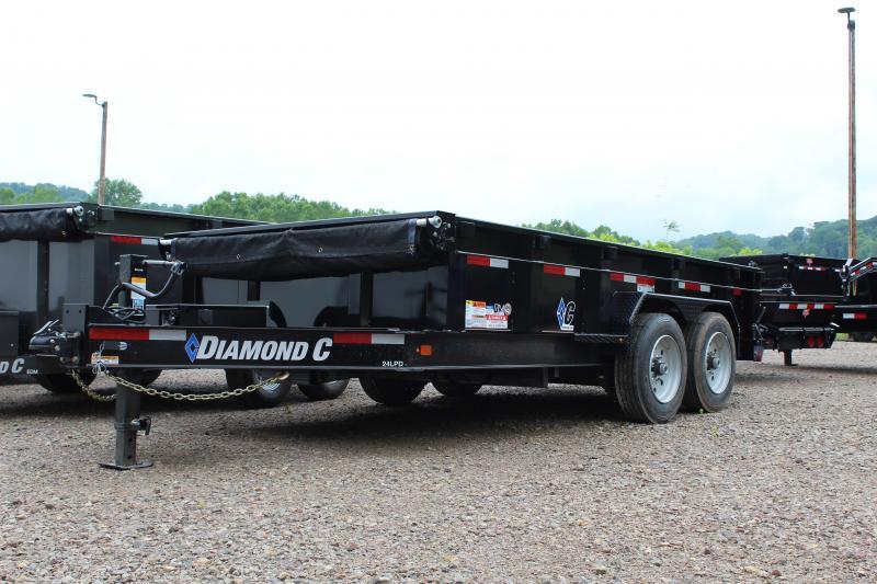 "2019 Diamond C PRO 82""X14' Dump Trailer"