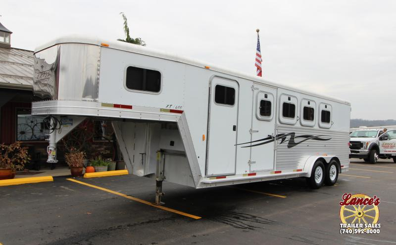 2003 Exiss 4 Horse Gooseneck Trailer Used 32016617