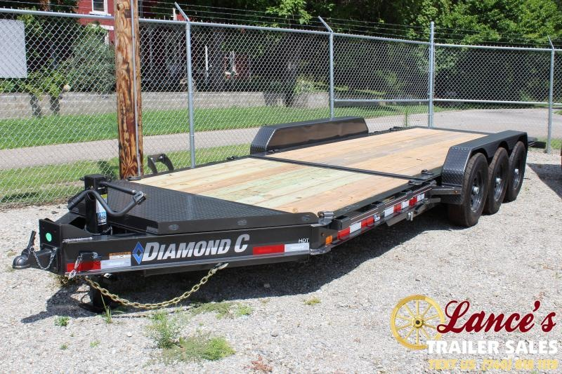 "2019 Diamond C 82""x22' HDT Tri-Axle Equipment Trailer"