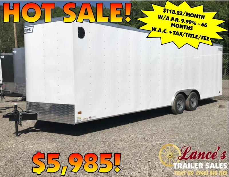*3 DAYS ONLY* 2019 Haulmark Passport 8.5' x 24' Tandem Axle Cargo Trailer