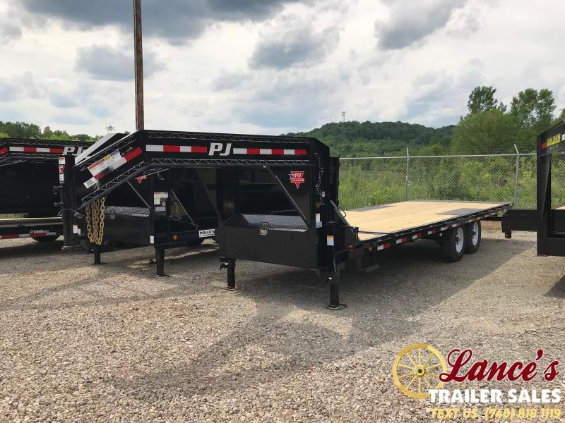 "2020 PJ Trailers 82"" x 24' GOOSENECK TILT EQUIPMENT"