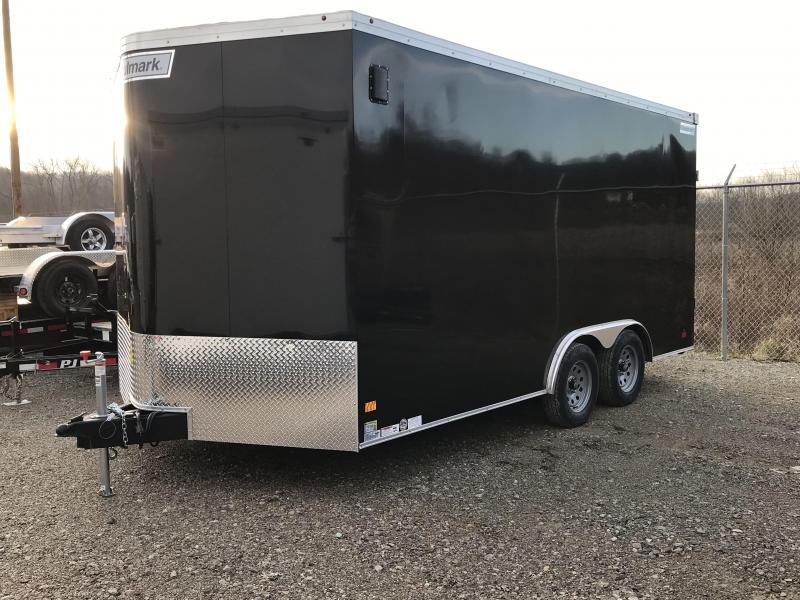 2019 Haulmark Transport 8.5'x16' Tandem Axle Cargo Trailer KH000691