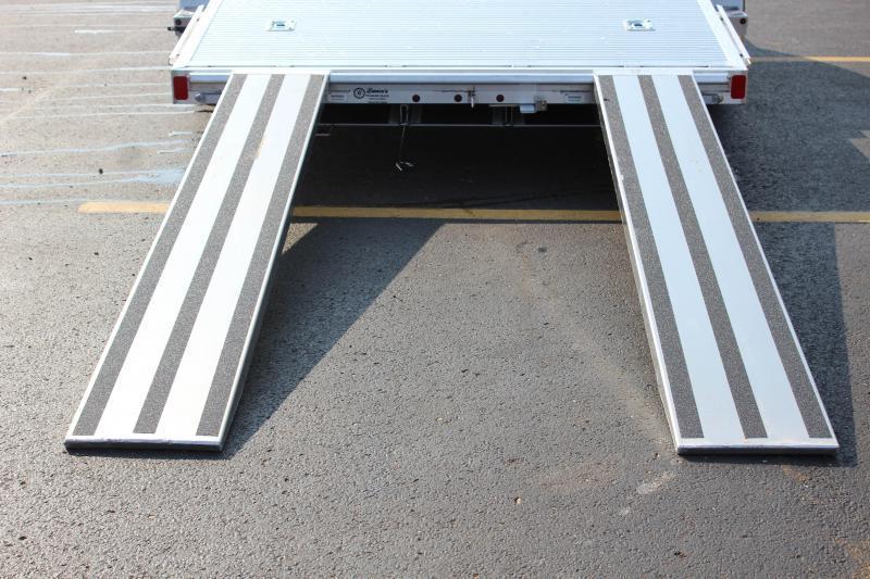 """2018 ATC Arrow 82""""x18'  Aluminum Open Car Hauler-7K-Torsion"""