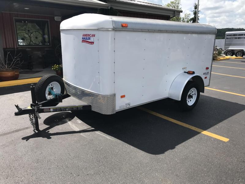 2012 American Hauler Industries 5x8 Enclosed Cargo Trailer