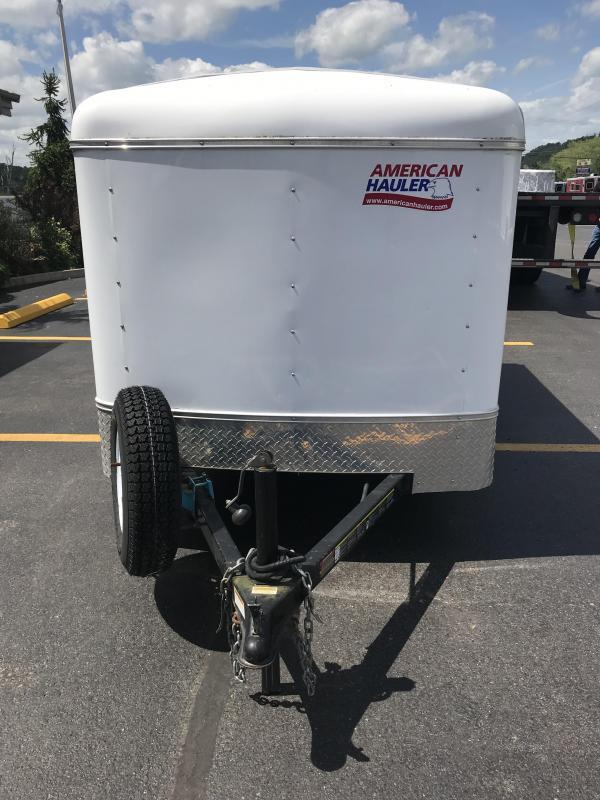 2012 American Hauler Industries 5x8 Enclosed Cargo Trailer
